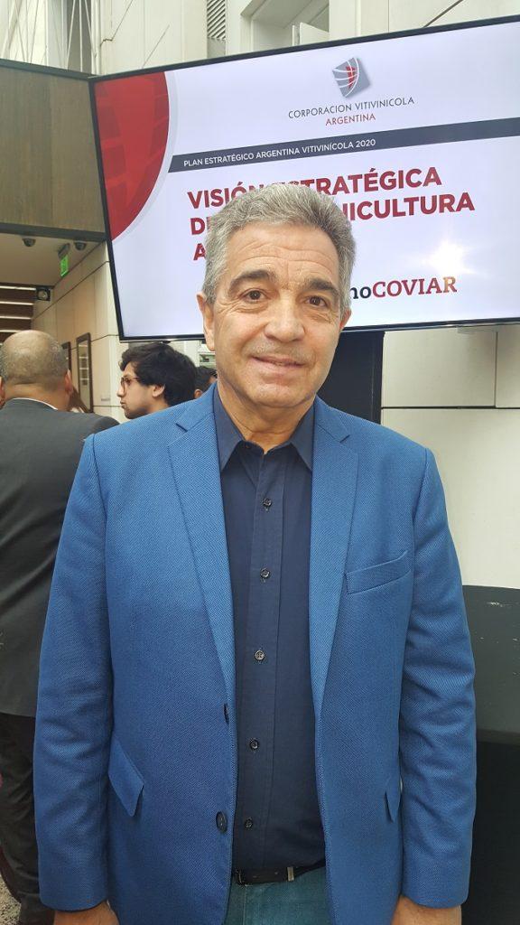 José Bartolucci, Presidente de la Cámara de Vino a Granel